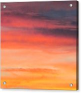 Colorful Clouds In The Sky 1 Acrylic Print