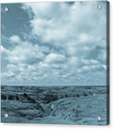 Cloudy Prairie Reverie Acrylic Print
