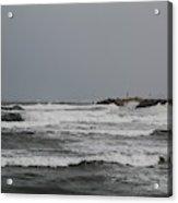 Cloudy Sea Acrylic Print