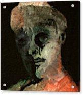 Clown On Black Acrylic Print