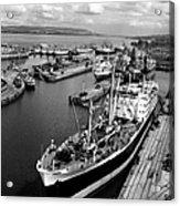 Clydeside Port Acrylic Print