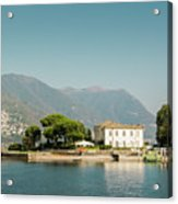 Coast Of Como Acrylic Print