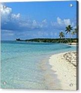 Coco Cay- Bahamas Acrylic Print