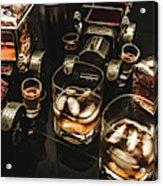 Cognac Cars Acrylic Print