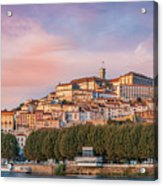 Coimbra's Skyline Acrylic Print