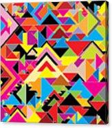 Color Abstract Acrylic Print