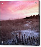 Color Over The Dunes Acrylic Print