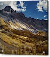Colorado Mountains Acrylic Print