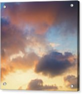 Colorful Clouds Acrylic Print