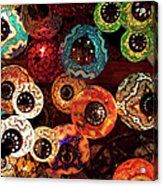 Colorful Turkish Lanterns From The Acrylic Print