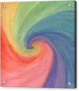 Colorful Wave Acrylic Print