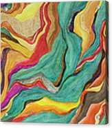 Colors Of Humanity Series Acrylic Print