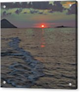 Colors Of The Sunrise Acrylic Print