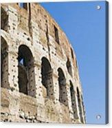 Colosseum Detail Acrylic Print