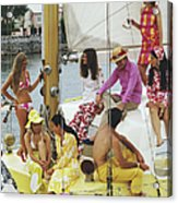 Colourful Crew Acrylic Print