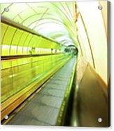 Colourful Walkway Acrylic Print