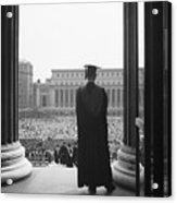 Columbia University Graduate Acrylic Print