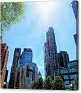 Columbus Circle At Mid Day Acrylic Print