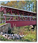 Colvin Covered Bridge Acrylic Print