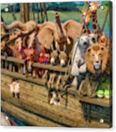 Come Aboard There's Plenty Of Room Ark Acrylic Print