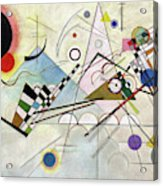 Composition 8 - Komposition 8 Acrylic Print