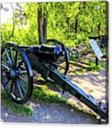 Confederate 20 Pound Parrott Rifles Acrylic Print