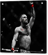 Conor Mcgregor The One And Only Acrylic Print