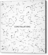 Constellations Acrylic Print