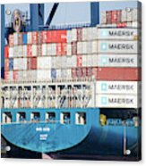 Container Ship Acrylic Print