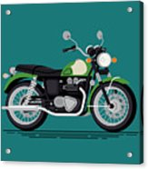 Cool Vector Classic Design Street Acrylic Print