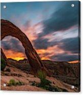 Corona Arch At Sunrise Acrylic Print