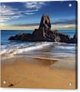 Corona Del Mar Beach Acrylic Print