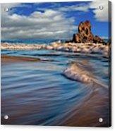 Corona Del Mar Beach II Acrylic Print
