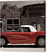 Corvette Cafe - C1 Acrylic Print