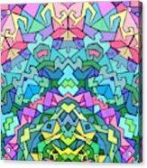 Cosmic Lock Acrylic Print