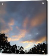 Cotton Sky Acrylic Print
