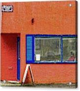 Cranberry Barber Shop Acrylic Print