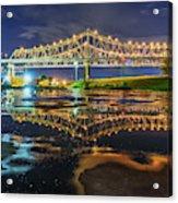 Crescent City Reflection Acrylic Print
