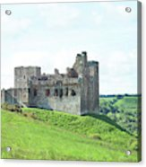 Crighton Castle In Summer Acrylic Print