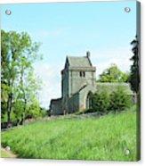 Crighton Church And Track Acrylic Print