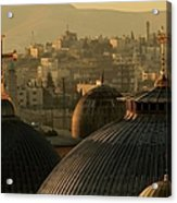 Crosses And Domes In The Holy City Of Acrylic Print