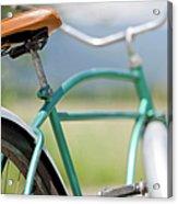 Cruiser Bicycle Acrylic Print