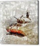 Crusader Tank, World War Two Acrylic Print