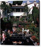 Cuernavaca Villa Acrylic Print