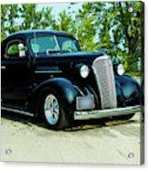 Custom 1937 Chevrolet Coupe Acrylic Print