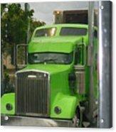 Custom Green Boca Acrylic Print