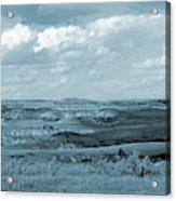 Dakota Grassland Shadows Acrylic Print