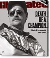 Dale Earnhardt, 1993 Hooters 500 Sports Illustrated Cover Acrylic Print