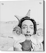 Dali With Shells Acrylic Print