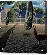 Dali's Llama Acrylic Print